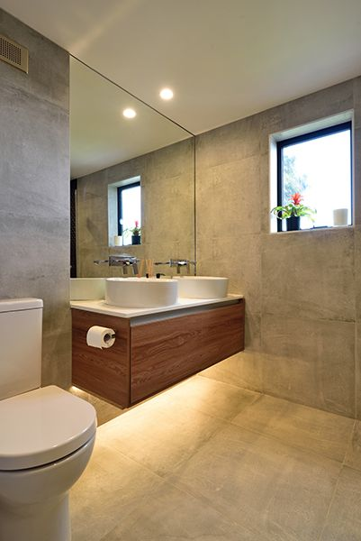Emma & Courtney Ensuite Bathroom from The Block NZ ...