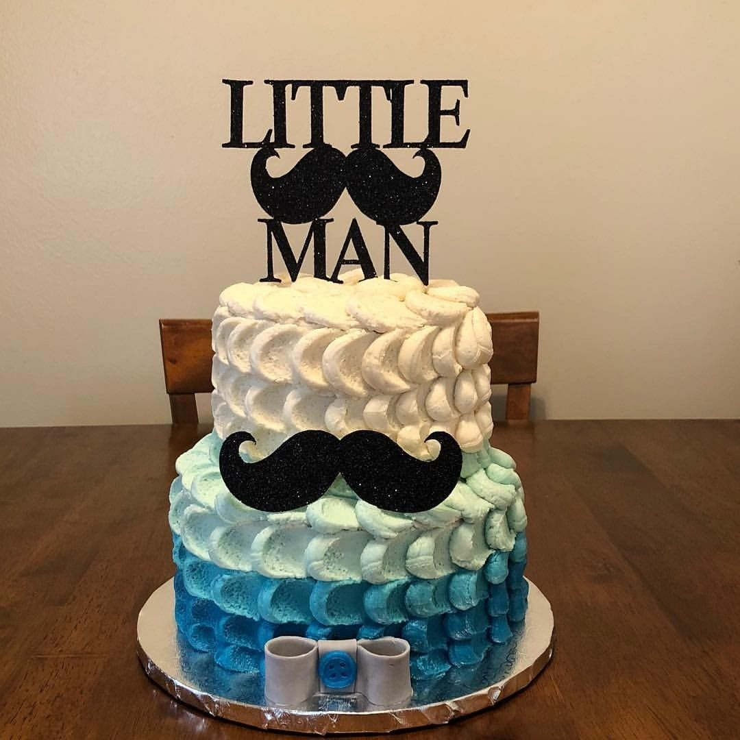 Little Man Cake Topper  Little Man Theme Baby Shower  Little Gentleman  Boy First Birthday  1st Birthday Cake Topper  Smash Cake Topper