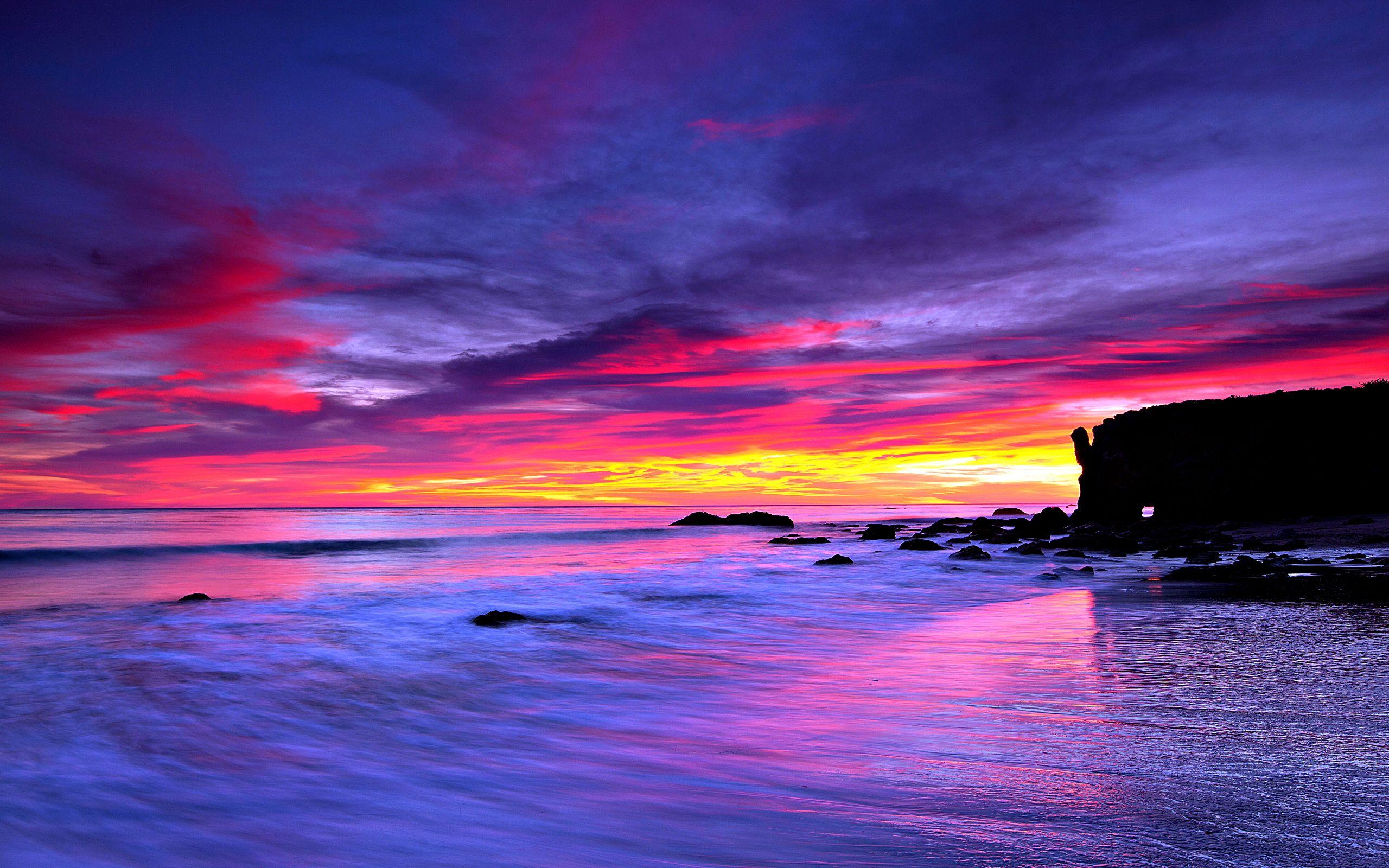 Beautiful Sea Wallpaper HD Freetopwallpaper. Colorway
