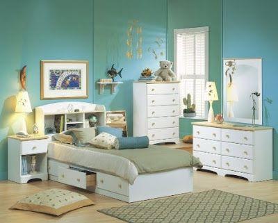 muebles de dormitorio para niños de color blanco | habitaciones de ... - Muebles Para Habitaciones De Ninos