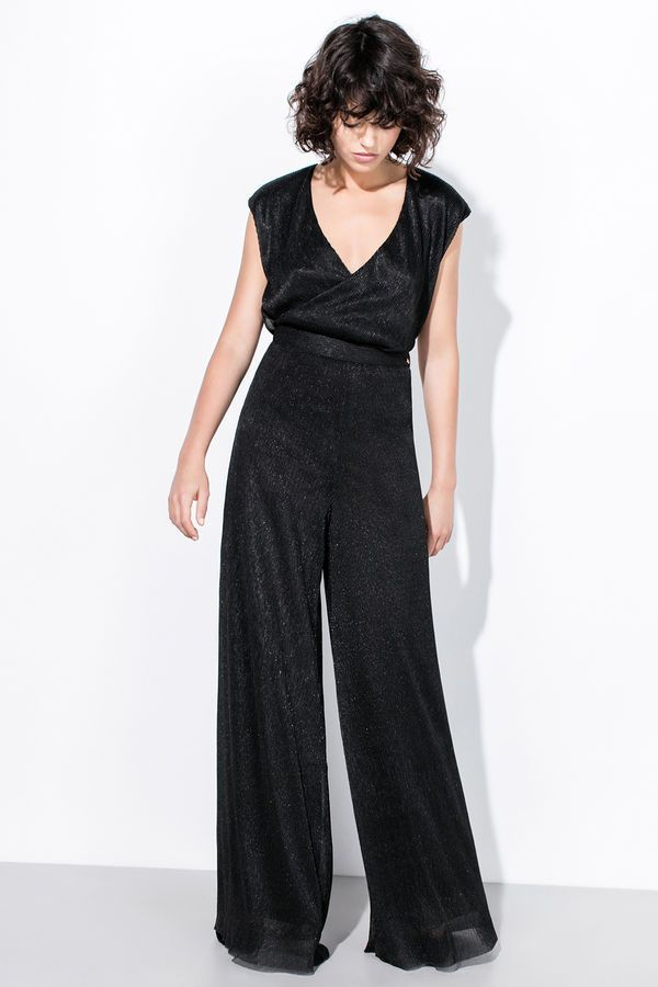 b2b51fdc450a Pedrodelhierro Pantalón lurex Negro | COLLECTIONS | Ropa online ...