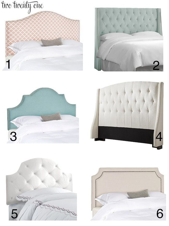 Inexpensive Upholstered Headboards | Camas, Dormitorio y Cabecera