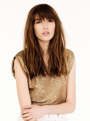cortes de pelo cabello lacio o liso con aspecto natural