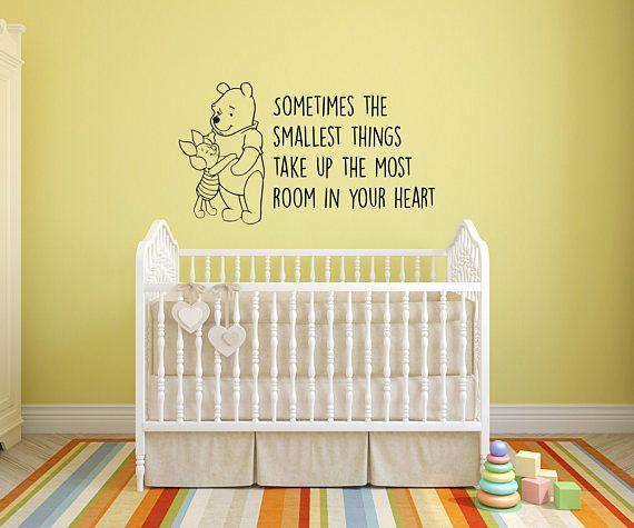 Winnie the Pooh Interior Vinyl Wall Sticker / Wall Decoration / Wall ...