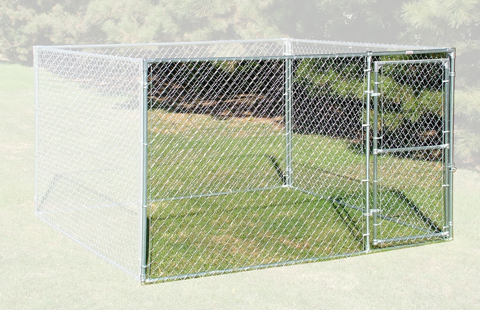 Single Door Panel 10 X 6 Value Chain Link Kennels Single Doors Panel Doors Paneling
