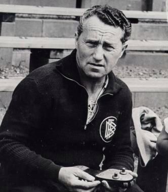 Rudolf Dassler, founder of Puma
