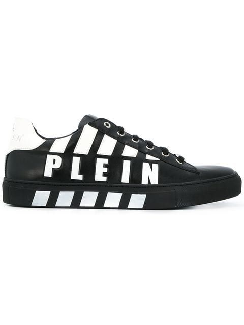 0edab686112 Philipp Plein Logo Printed low-top Sneakers | MEN'S ❁ SNEAKERS ...