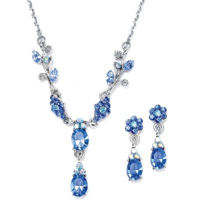 Bridesmaids earrings and necklace