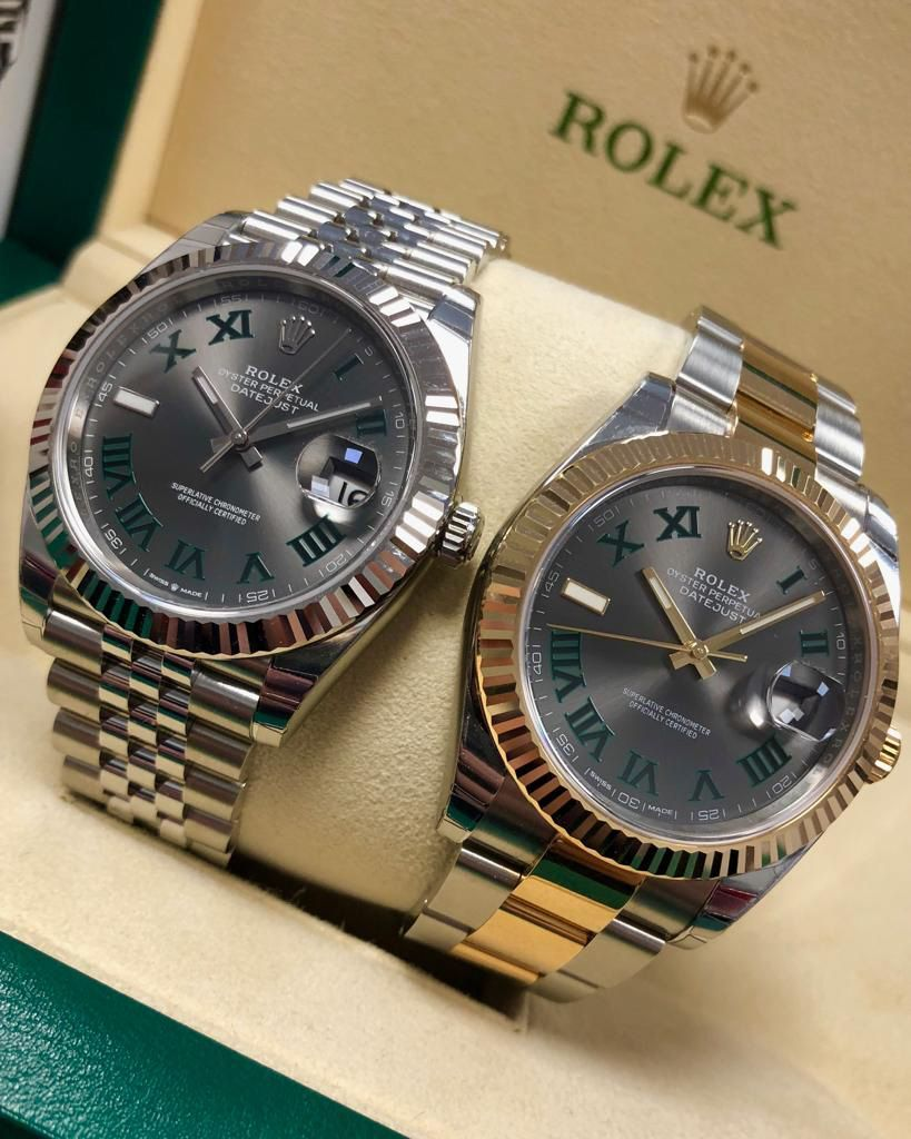 One of the most popular watches from the Datejust 41 range