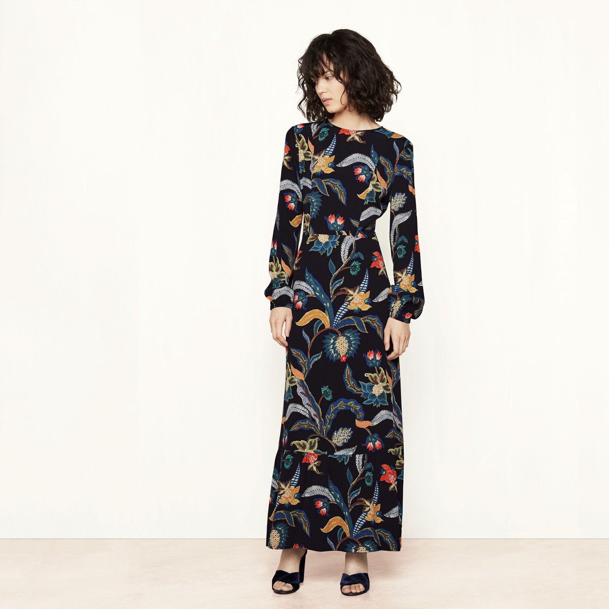 c1832954ac1a7 ROUSSEAU dress, Maje signature theme Baroque, FW16     style lust ...