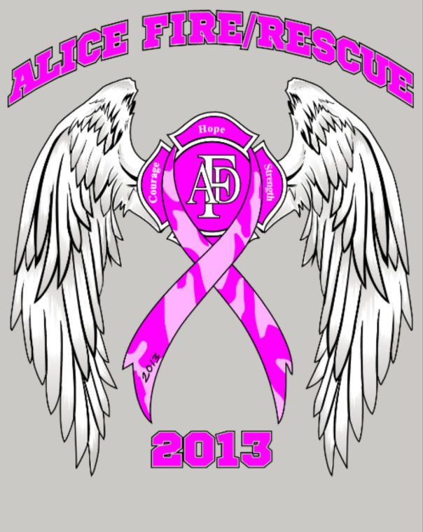 a26bbf651bdb AFD getting ready to sell t-shirts for Breast Cancer Awarness ...