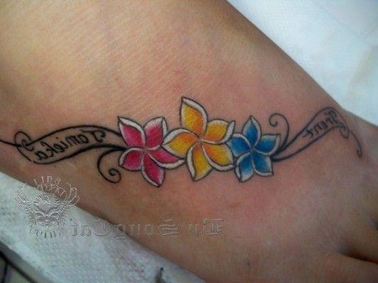 Hawaiian Flowers Tattoo Designs Meanings Tattoos Pinterest