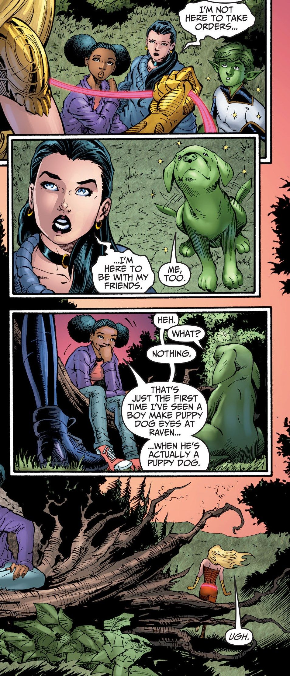 beastboy and raven relationship in comics wolverines