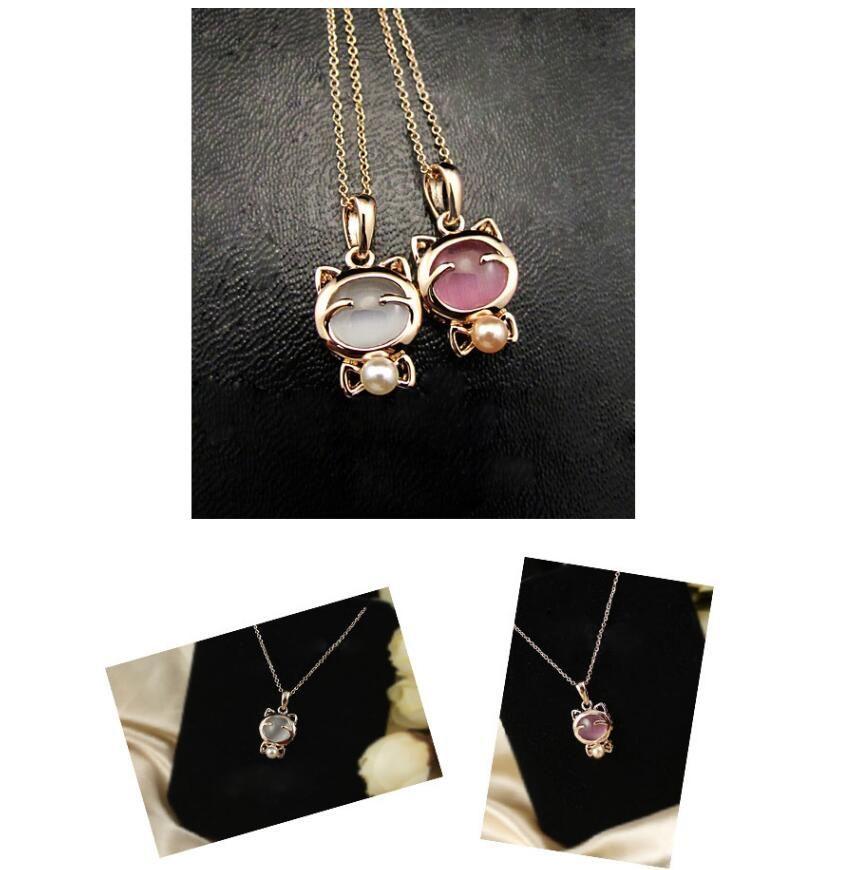Hello kitty ketting nieuwe arrivel crystal sieraden gratis geschenken gratis verzending c356 c357