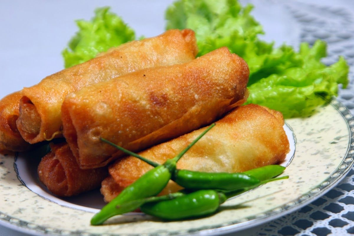 Membuat Lumpia Goreng Khas Semarang Bukanlah Hal Yang Sulit Dengan Resep Lumpia Goreng Asli Semarang Isi R Resep Makanan Sehat Resep Masakan Indonesia Makanan