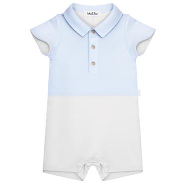 Baby Dior Newborn Jumpsuit