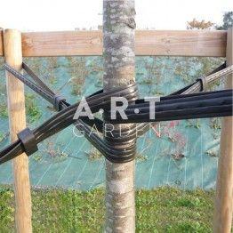Laniere Souple Renforcee Prepercee Pour Tuteur Arbres Jardiniere En Bois Carrelage Terrasse Bac En Bois