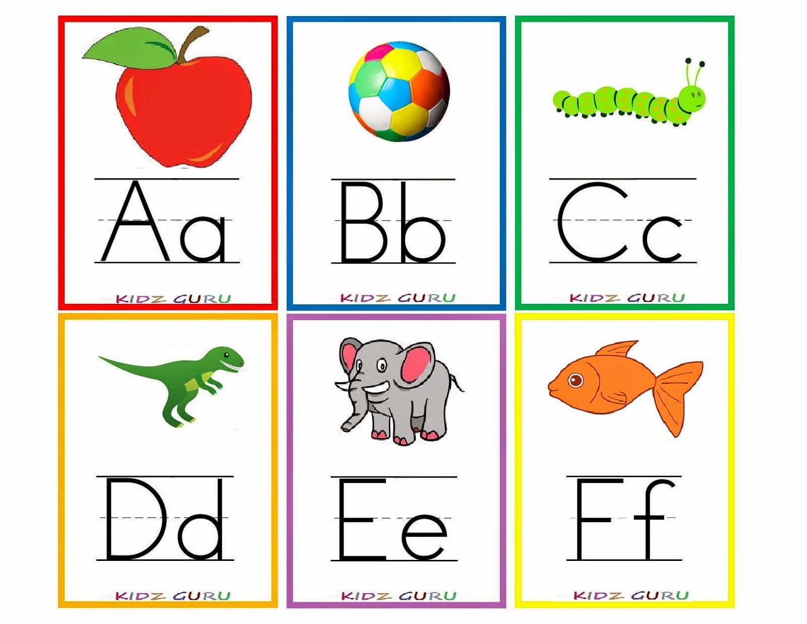 Preschool Alphabet Worksheets In