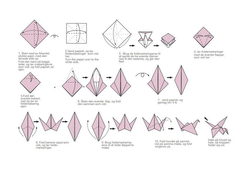 How to Make An Origami Crane for Your Wedding | Origami crane ... | 595x841