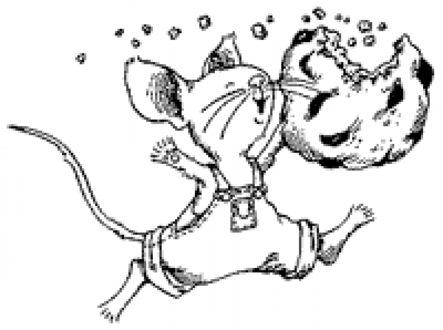 Ifyou Give A Mouse Acookie Coloring Pages Dog Coloring