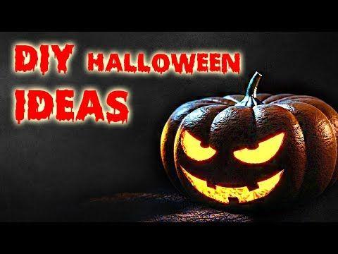 YouTube DIY and crafts Pinterest Halloween diy, Halloween and