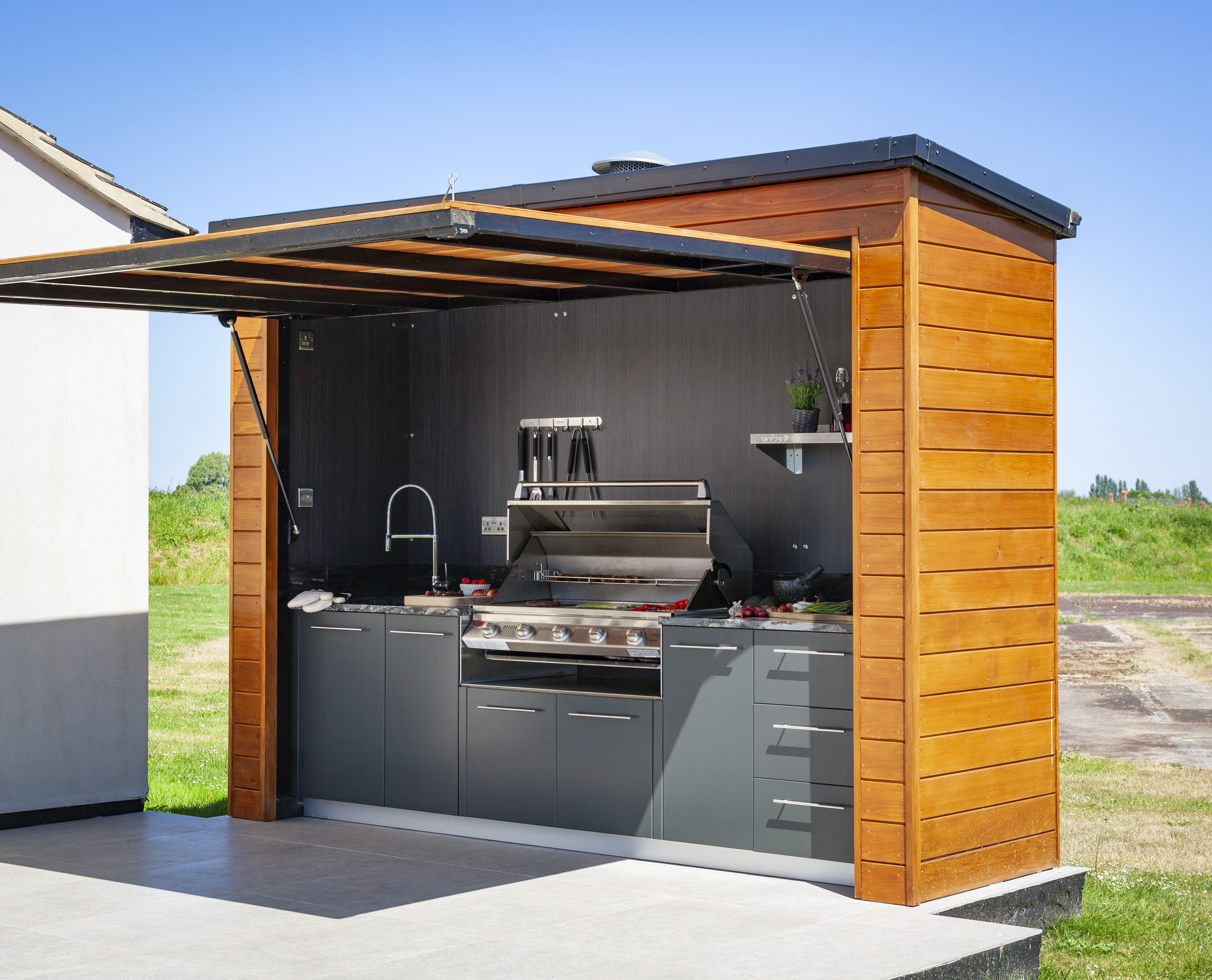 Small Garden Outdoor Kitchen   Novocom.top