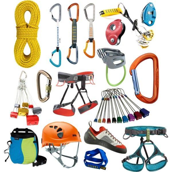 Climbing Gear | Climbing | Rock climbing gear, Rock ...