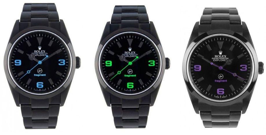 Rolex X fragment design Explorer Watch. #watch #fashion # ...