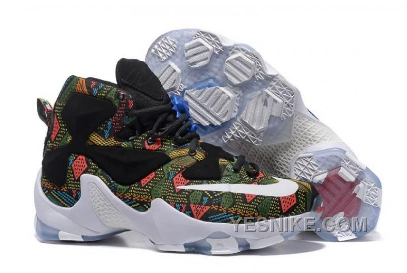 reputable site 657ae ef1f3 New Arrivals Sneakers Nike Lebron 13 Galaxy Electric from Reliable Big  Discount ! New Arrivals Sneakers Nike Lebron 13 Galaxy Electric suppliers.