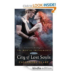 City of Lost Souls (The Mortal Instruments)  Honestly I skimmed through a lot of this book. It was just okay as are the rest in this series.