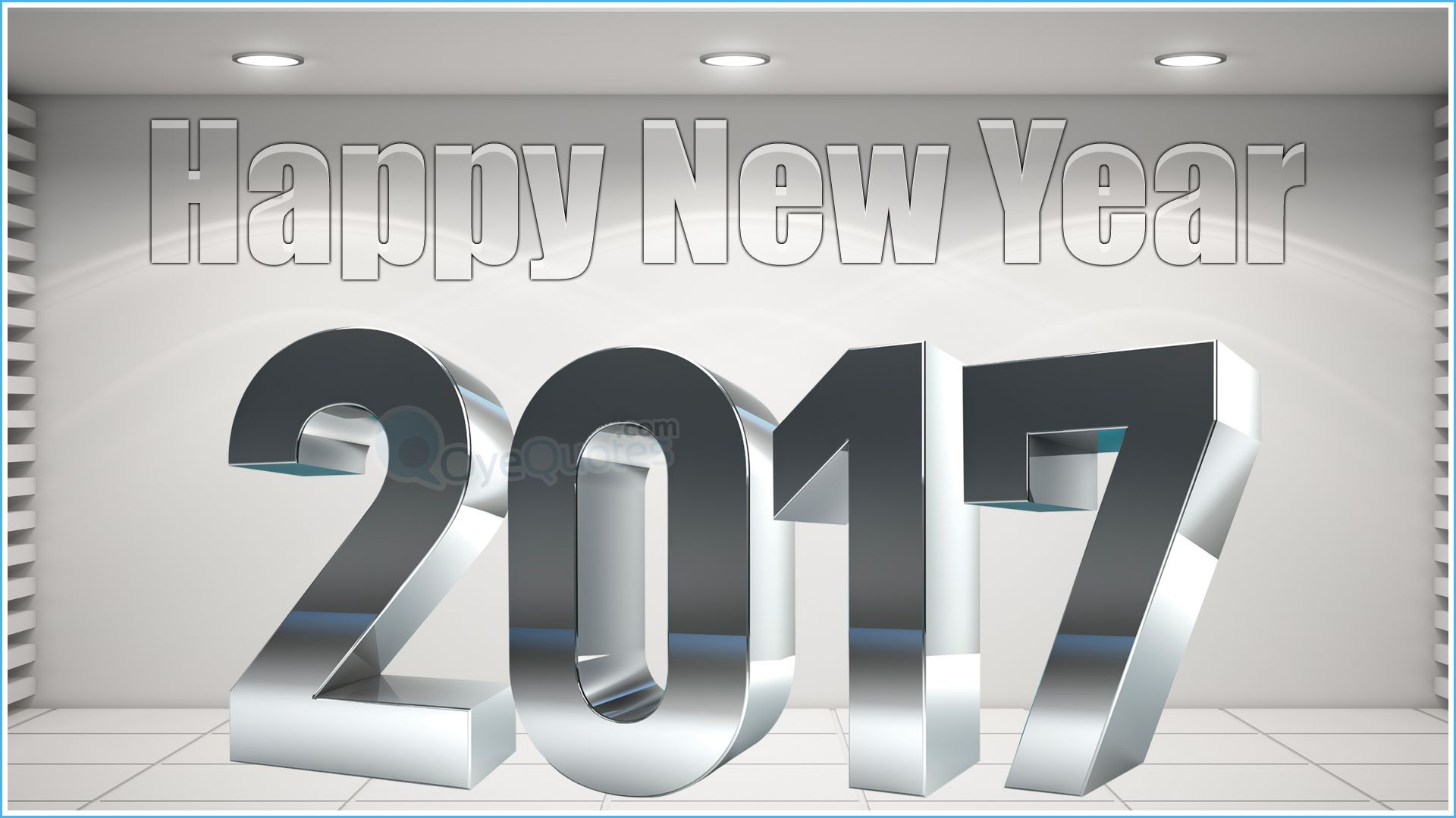 Happy New Year 2017 Wallpapers 3D Designs