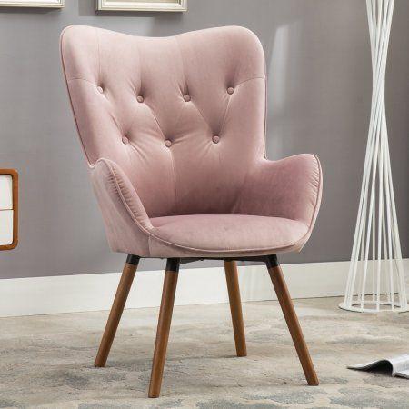Roundhill Furniture Doarnin Contemporary Silky Vel