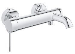 GROHE Essence Wall-Mounted Bath Tap With Shower Set