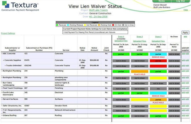 View Lien Waiver Status  Recipes    Recipes