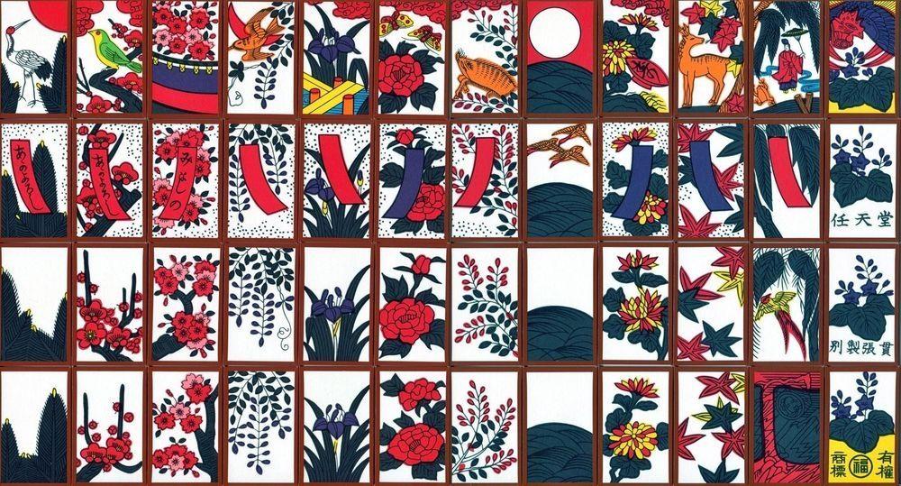 Ханафуда — разновидность колоды игральных карт японского ...