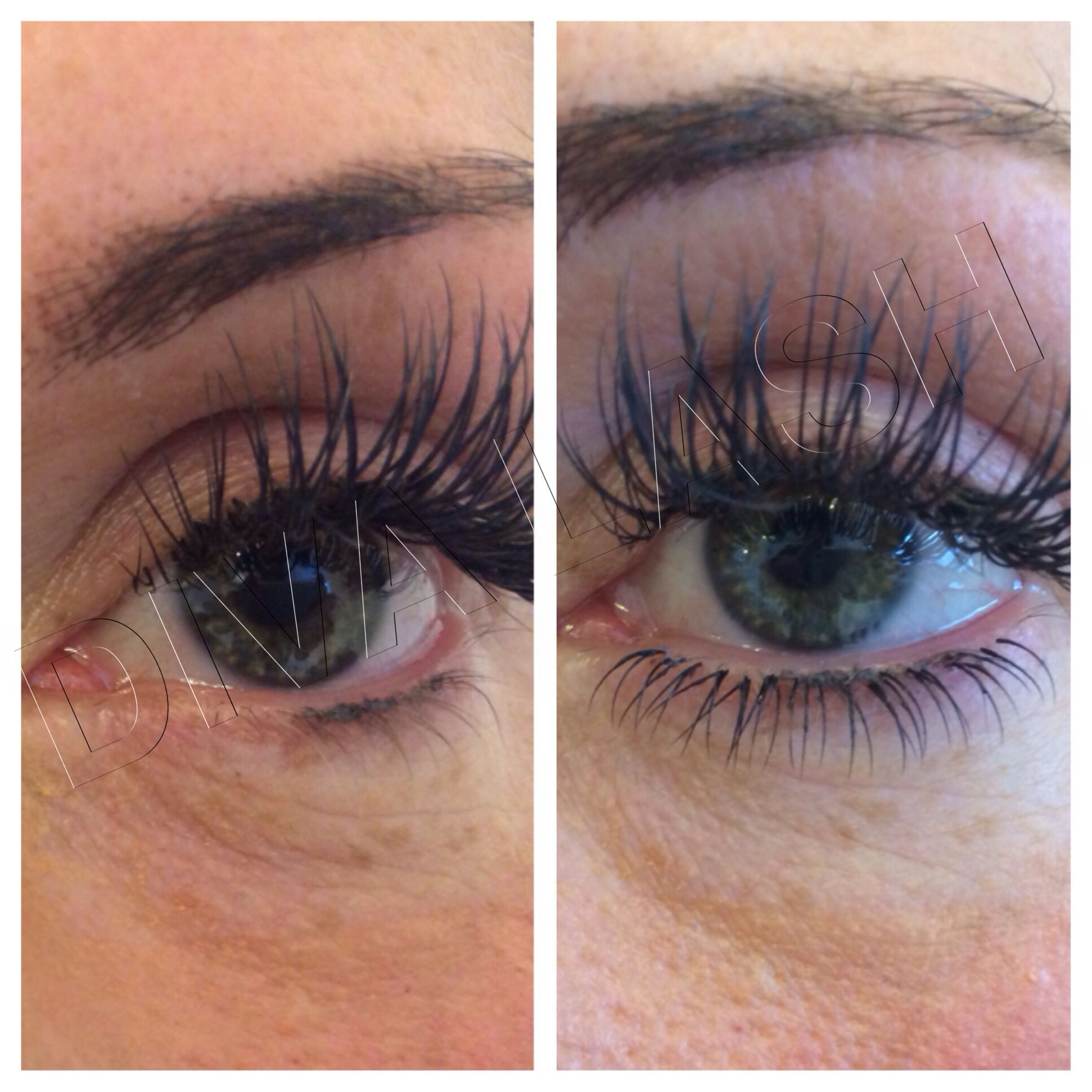 e16b4d0ee91 LOWER EYELASH EXTENSIONS to complete the look, applied by Master lash Tech  at Diva Lash.
