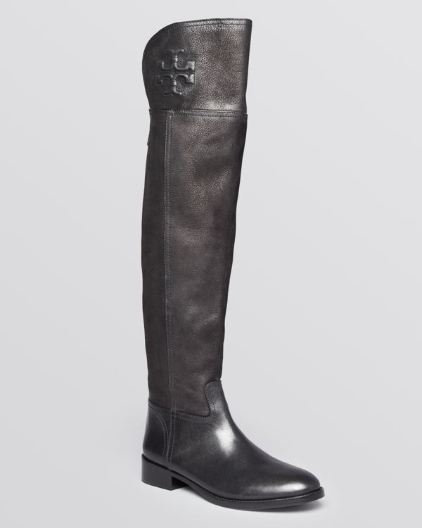 b8d89a22fcba Tory Burch Flat Over The Knee Boots - Simone