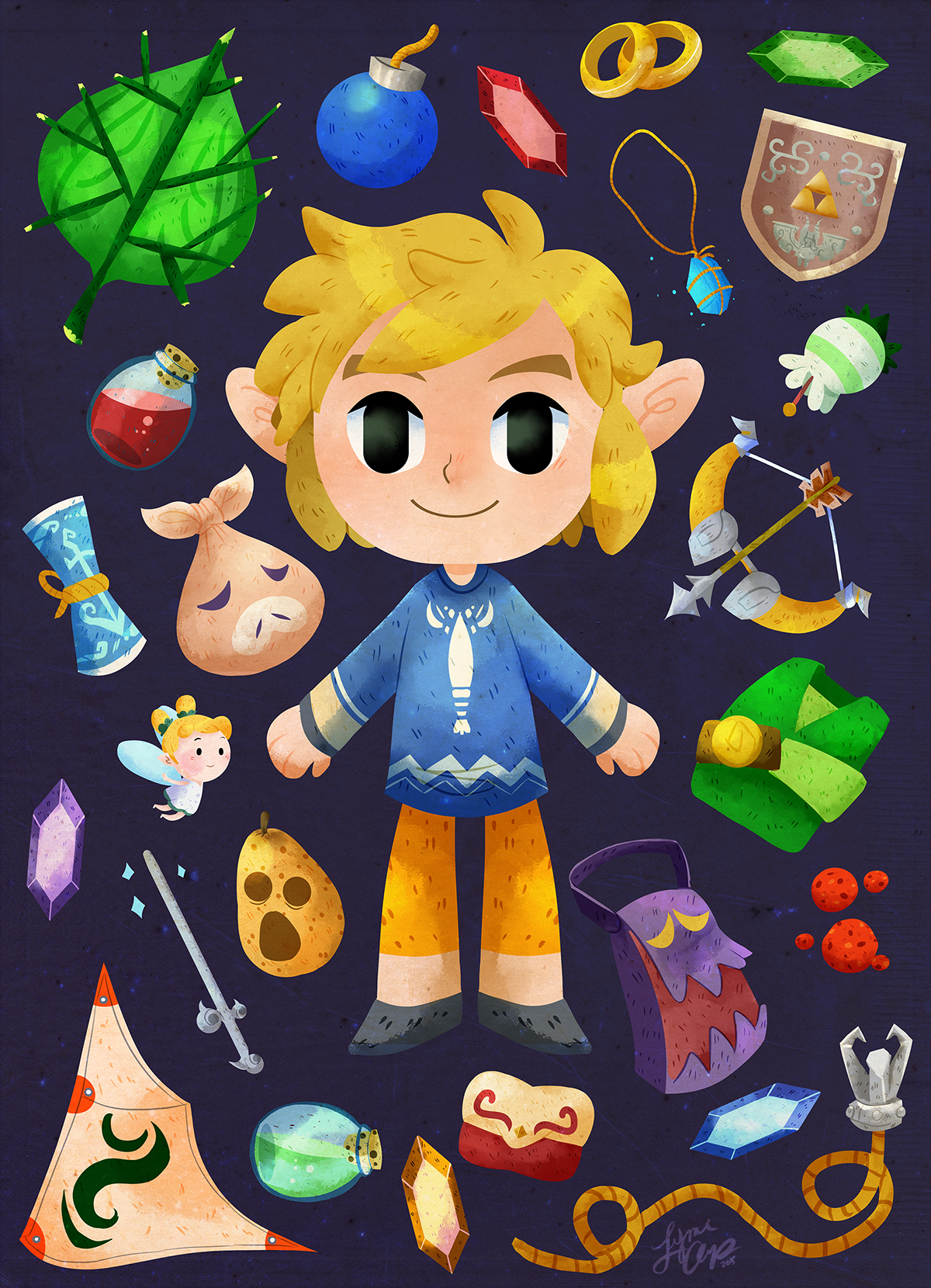 Wind Waker Items! The Legend of Zelda Pinterest