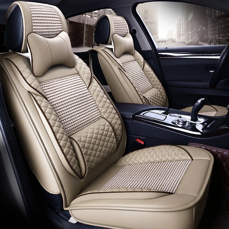 Q11 Audi: Cool Summer Leather Seat Covers For BMW Coupe Mini