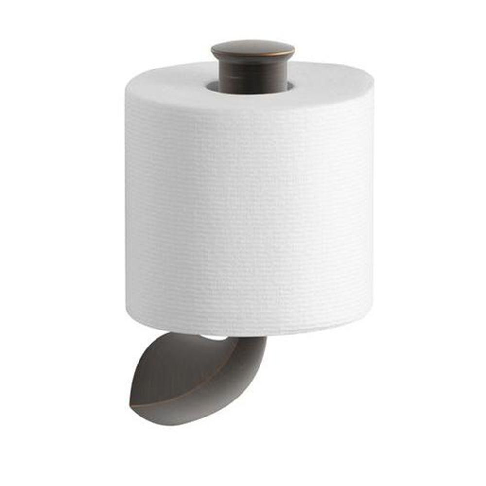 Badezimmer Accessoires Depot Kohler Alteo Single Post Toilet Paper Holder In Oil Rubbed Bronze