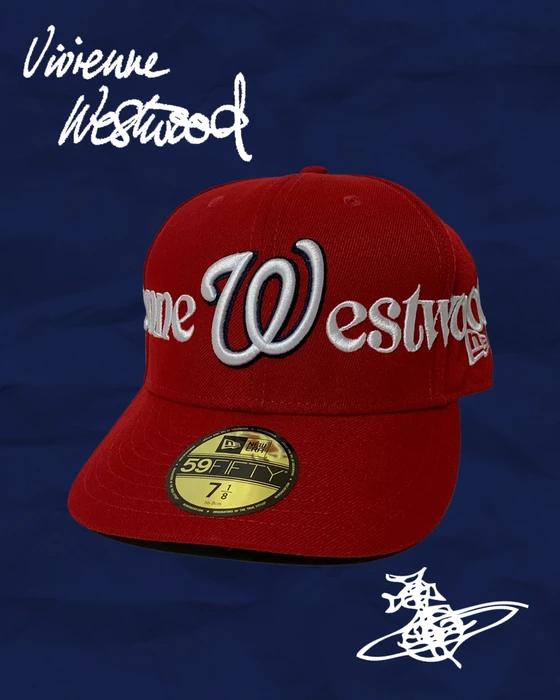 Custom Custom Vivienne Westwood New Era Fitted Hat Size 7 8 Grailed Fitted Hats New Era Fitted Hat Sizes