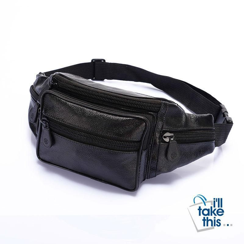 Cow With Heart Sport Waist Packs Fanny Pack Adjustable For Travel