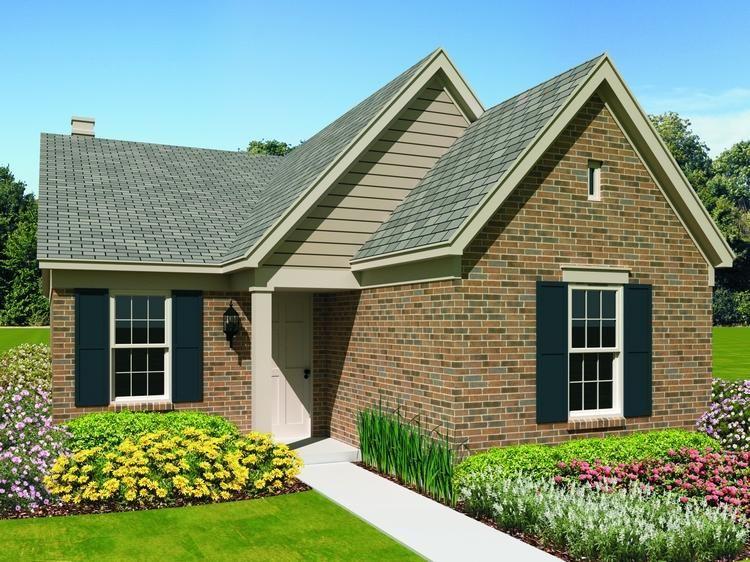 House Plan 05302572 Narrow Lot Plan 1,081 Square Feet