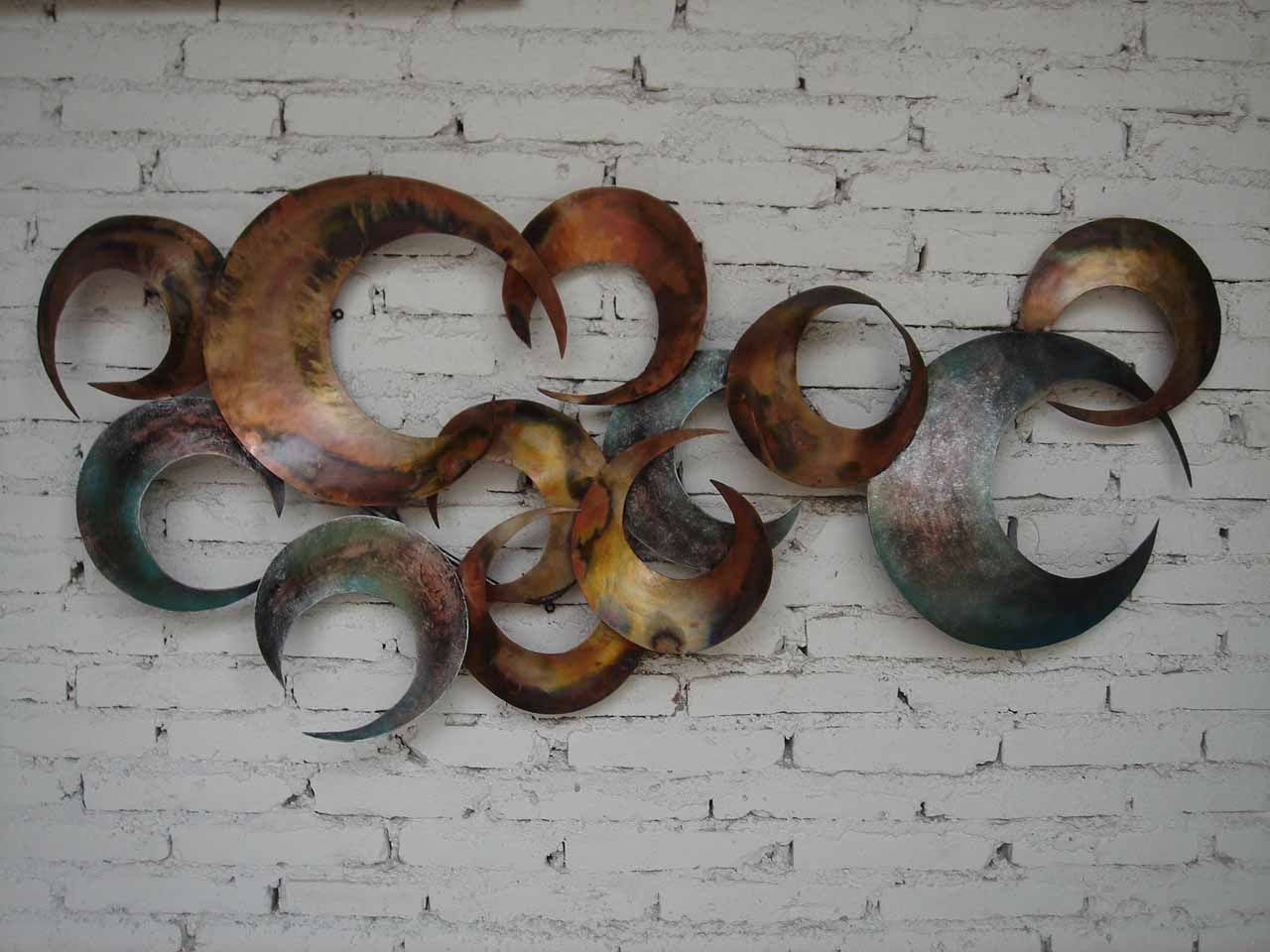 Contemporary Metal Wall Art metal wall art decor and sculptures | arlene designs