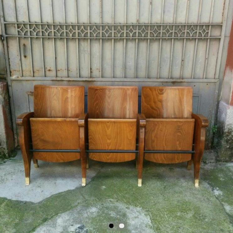 Sedie Da Cinema In Legno.Contattami Sedie Da Cinema In Legno Anni50 Disponibili File Da 2