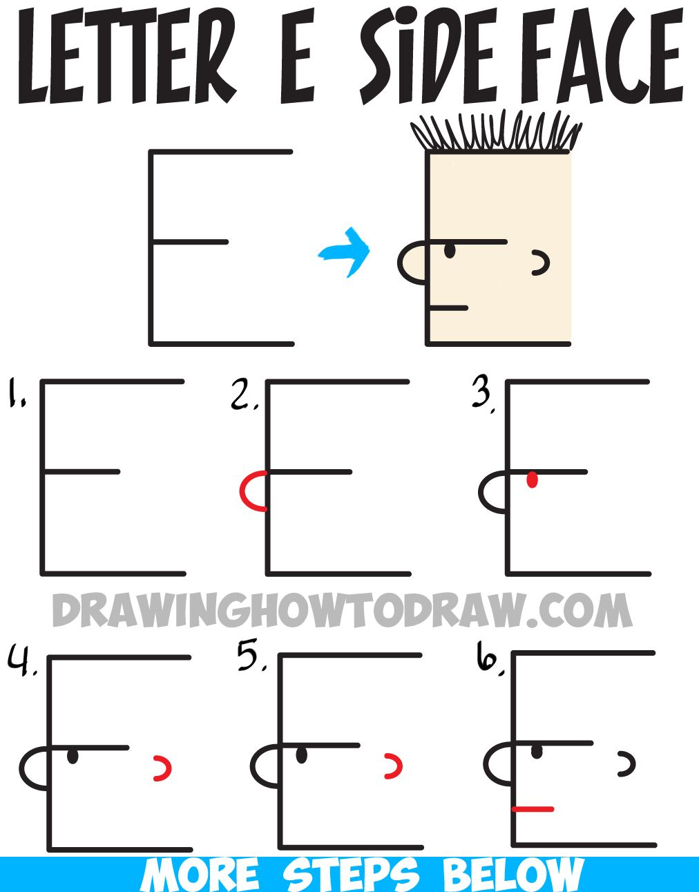 3 Letter Cartoon Characters : Huge guide to drawing cartoon characters from uppercase