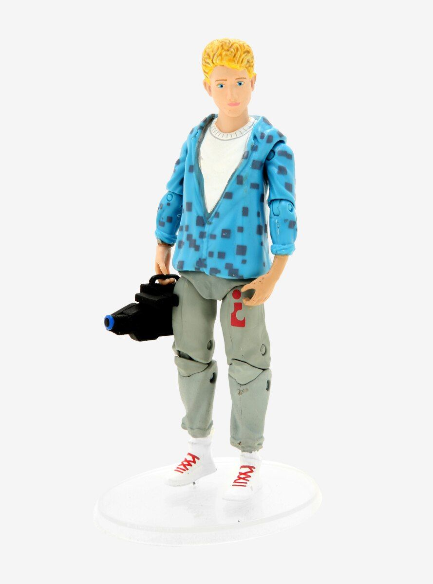 Be excellent to each other! No rad collection is complete without Bill S. Preston Esq. from Bill & Ted's Excellent Adventure . Get ready to rock with the Wyld Stallyns. Bill comes with an electric guitar strumming hand and camcorder.