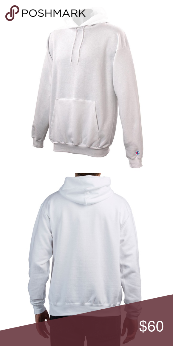 Pure Champion Xl Sweatshirt Reverse White Hoodie Weave MUzpVS
