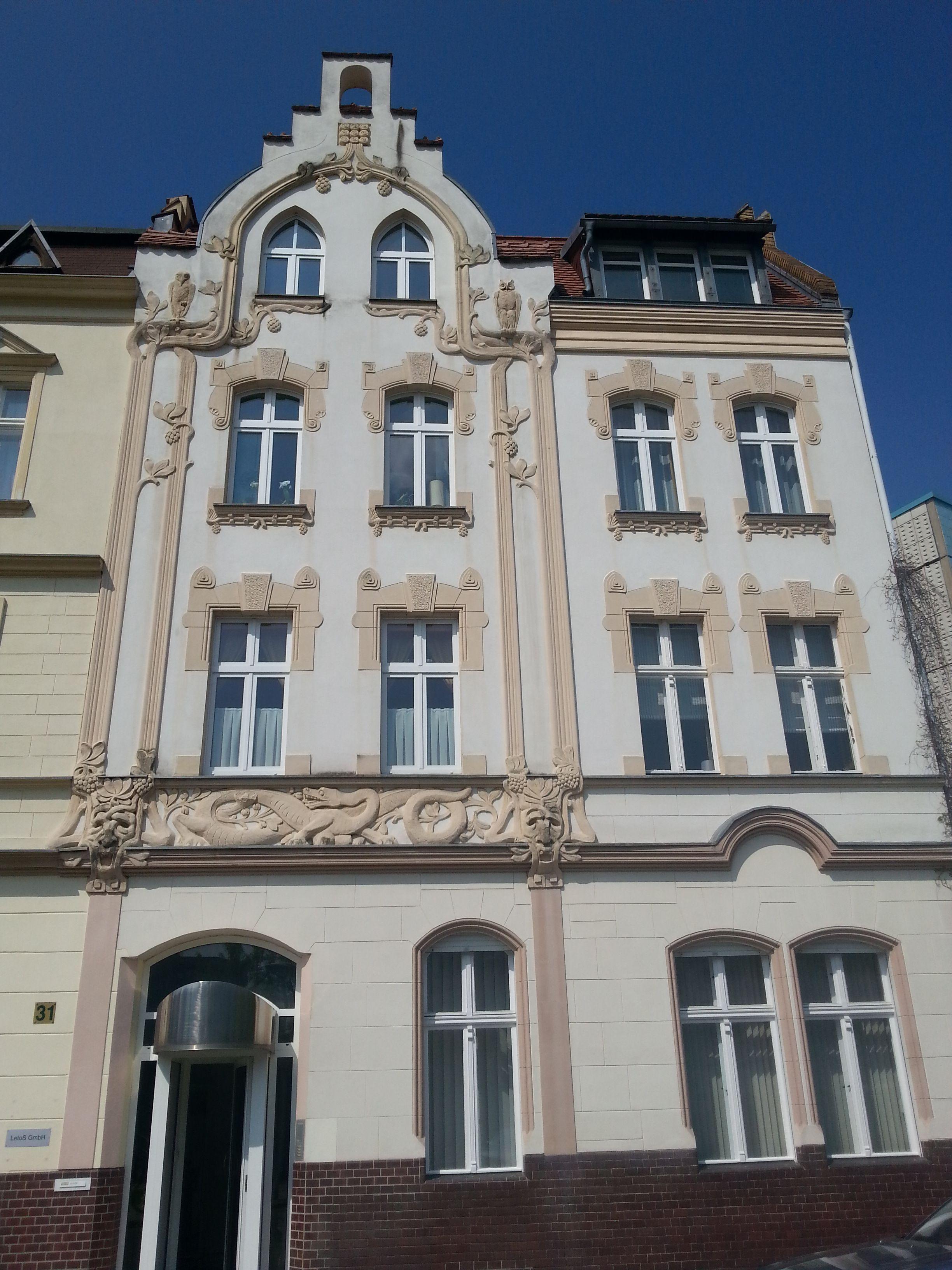 Cottbus, ErichWeinertStr. Wohnhaus (was mit der