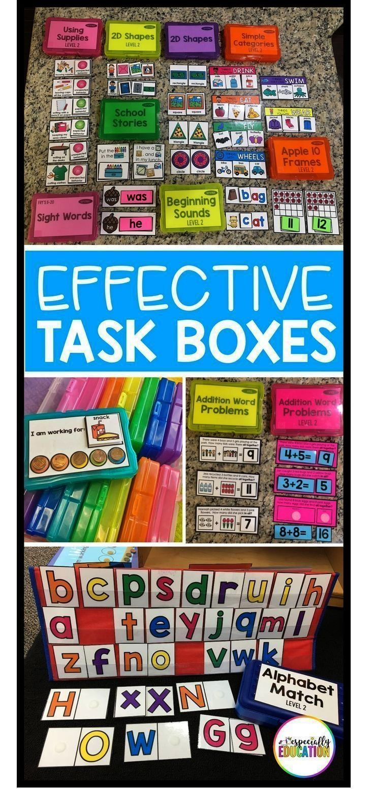 Setting up an effective independent work station is a game changer in the special education classr